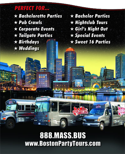 Boston Party Bus Tours